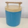 HT0905 Vietnam lacquered bamboo ice bucket