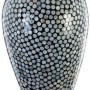 HT2015 Mother of pearl inlaid vase