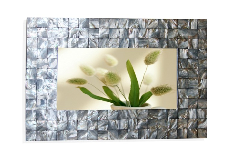 HT3101 Rectangular mother of pearl mirror