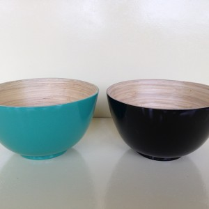 HT5116 bamboo serving bowl