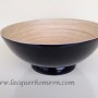 HT7018 lacquer bamboo fruit bowl