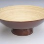 HT7019 lacquered bamboo bowl