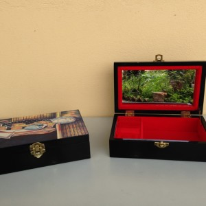 HT9300-Vietnam lacquer jewelry box