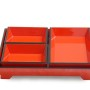HT9422 Lacquered wooden soap tray, made in Vietnam