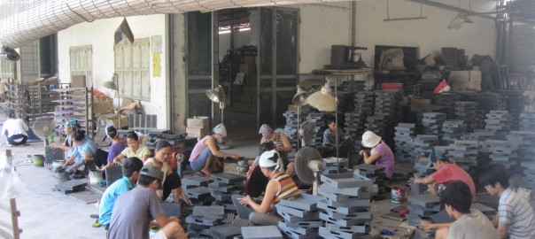 Ha Thai lacquer factory