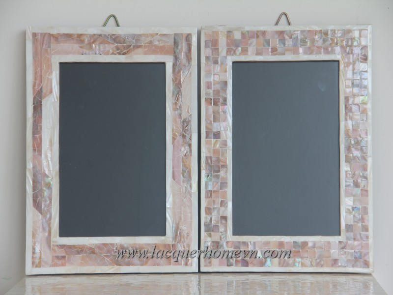 Ht4000 Vietnam Lacquer Picture Frame Ha Thai Bamboo