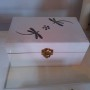 HT9112 MDF lacquer jewelry boxes with dragon fly mother of pearl inlaid