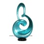 HT3605.3 abstract resin lacquer sculpture