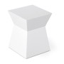 HT0102 lacquer stool white