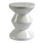 HT0117 zig zag lacquered resin stool