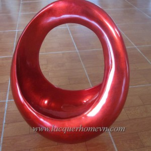 HT3609 Lacquer metallic sculpture Vietnam
