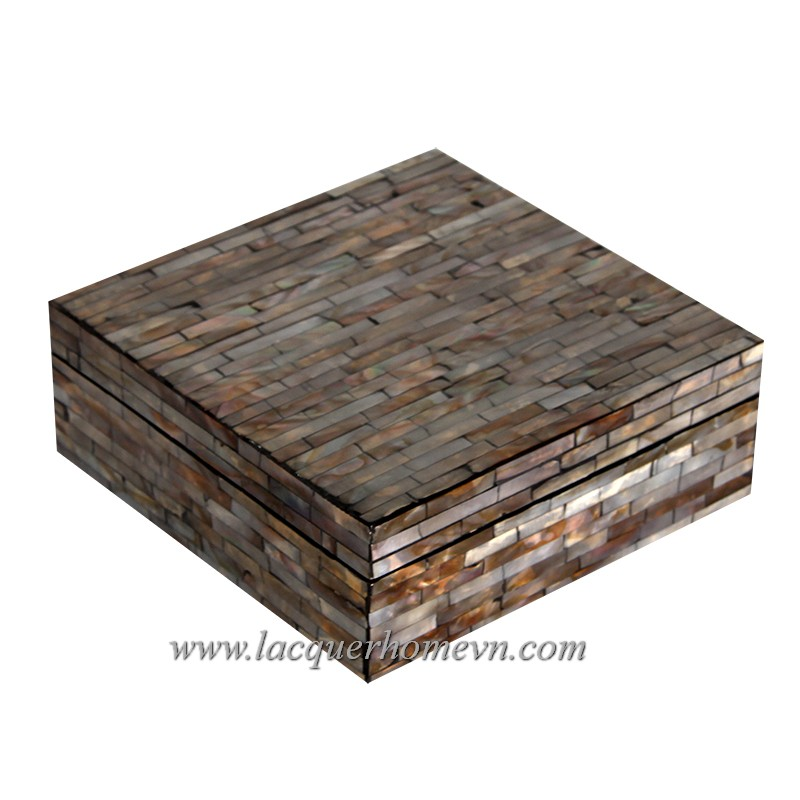 HT3377 Mother of pearl box in MDF