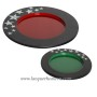 HT7114 MDF lacquer mother of pearl charger plate