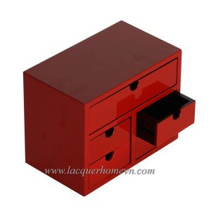 HT9126 MDF lacquer jewelry boxes