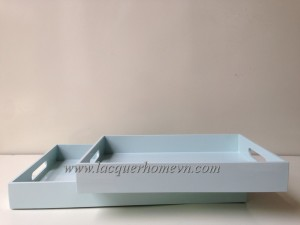 HT6186 MDF lacquer serving tray made in Vietnam