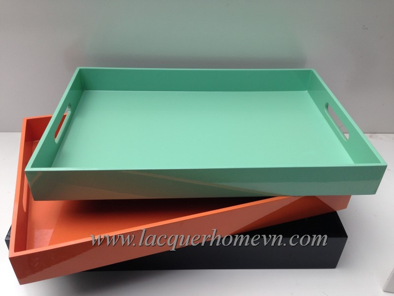 HT6240 MDF lacquer serving tray