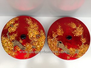 HT9919 Vietnam lacquer jam box for Chinese New Year