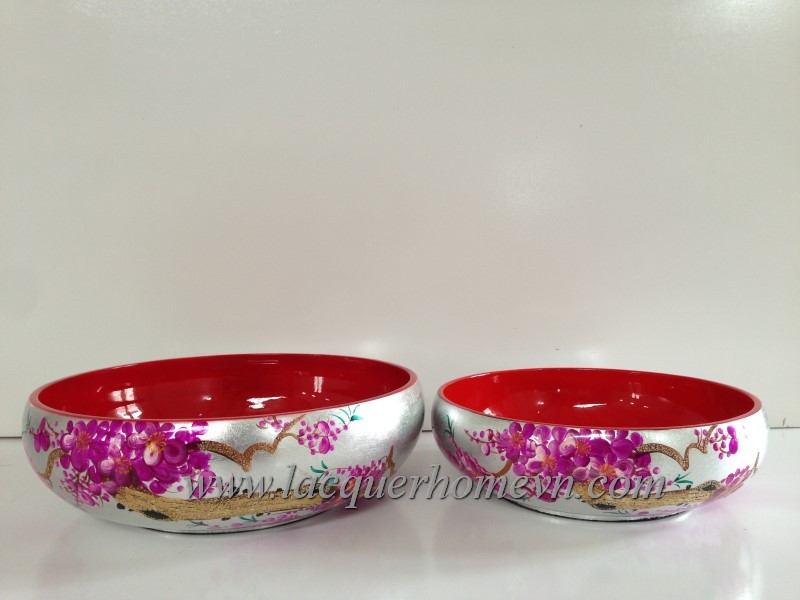 HT5818.2 wood lacquer paiting bowl