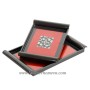 HT6009 Lacquer serving tray with mother of pearl mosaic