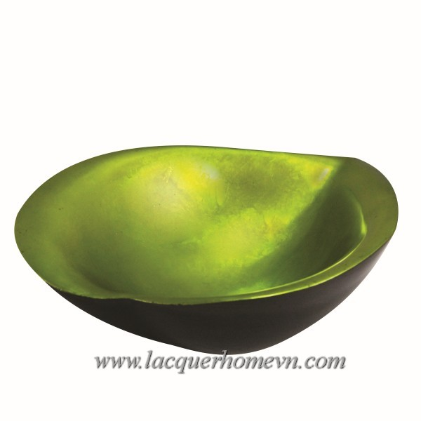 HT5717-Polyresin-lacquer-bowl