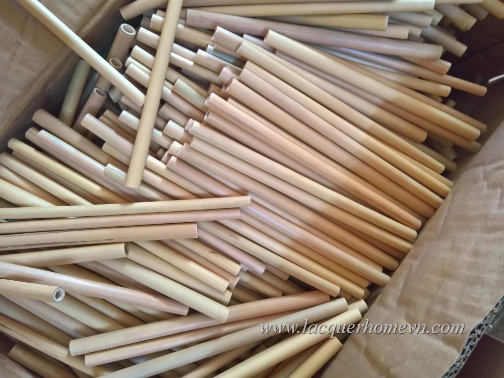 Vietnam Bamboo Drinking Straw Factory Ha Thai Bamboo